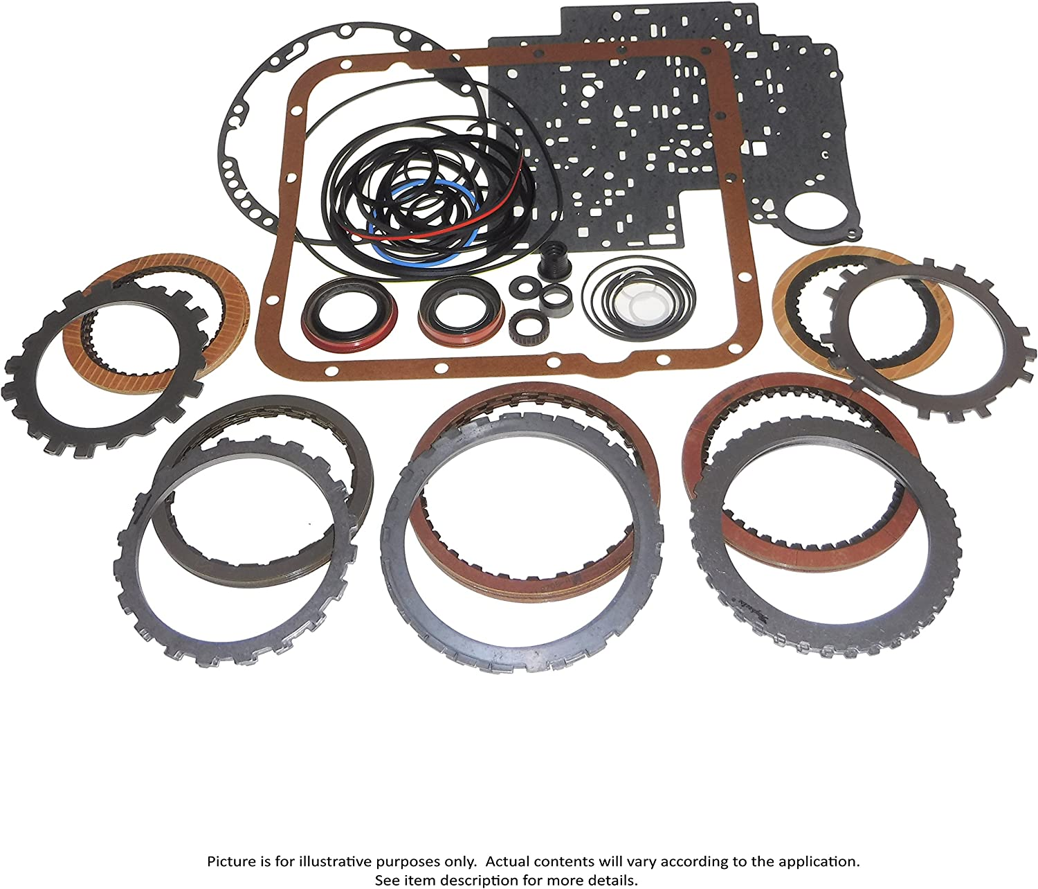 Transmaxx Transmission Rebuild Master Kit With Steels A340H 85-94