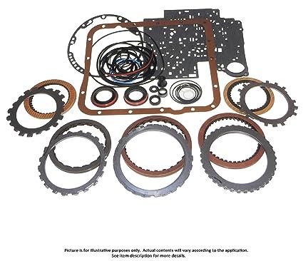 amazon com: transmaxx transmission rebuild master kit with steels 4t65e  97-02: automotive