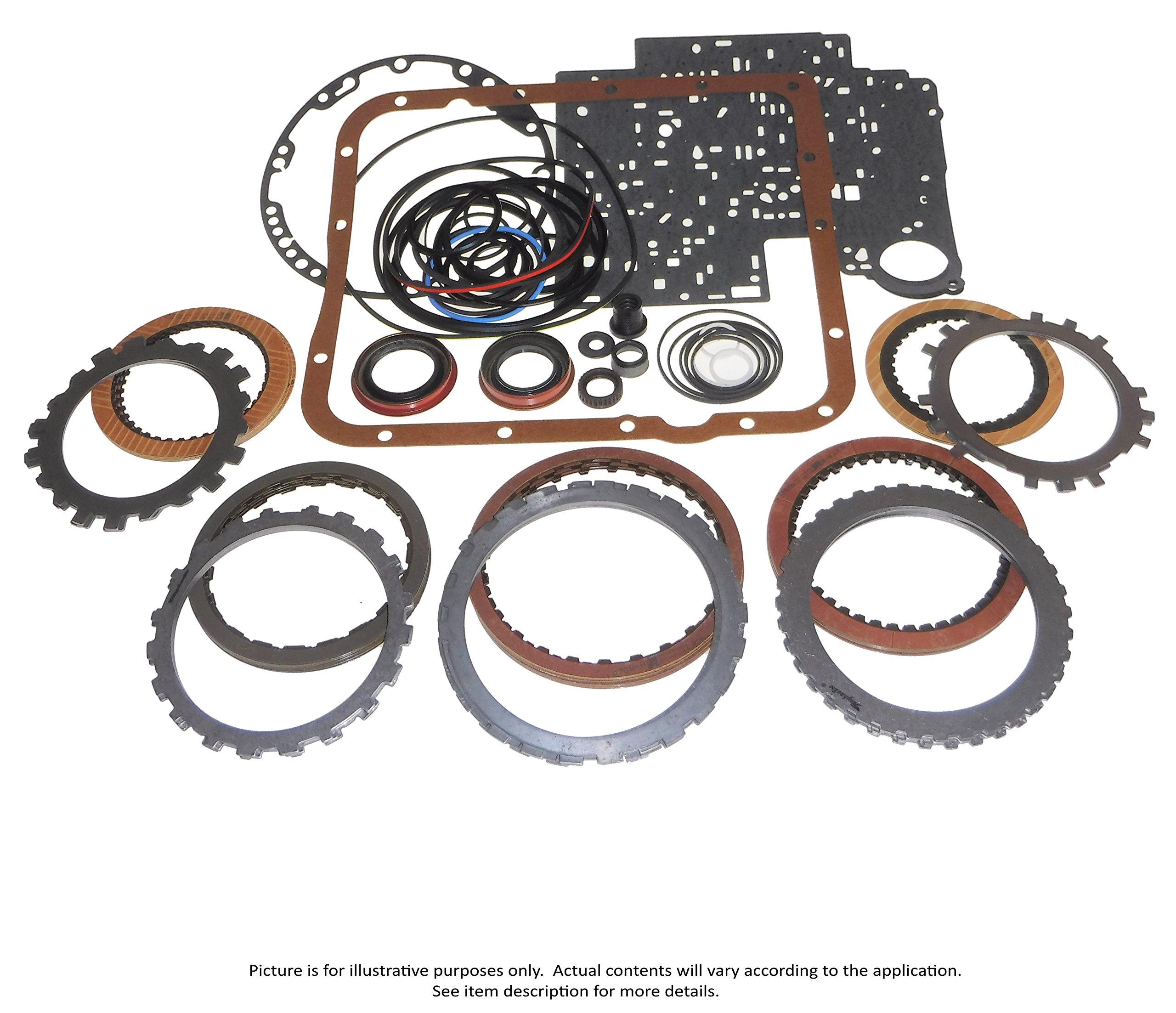 Transmaxx Transmission Rebuild Master Kit With Steels 42RLE 03-17