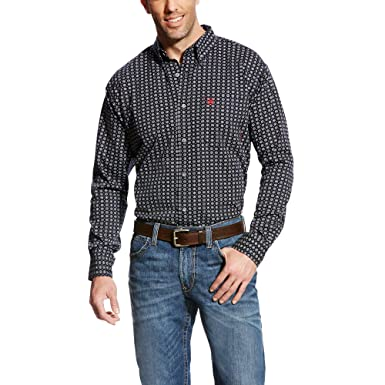 Amazon com: ARIAT FR Stark Work Shirt: Clothing