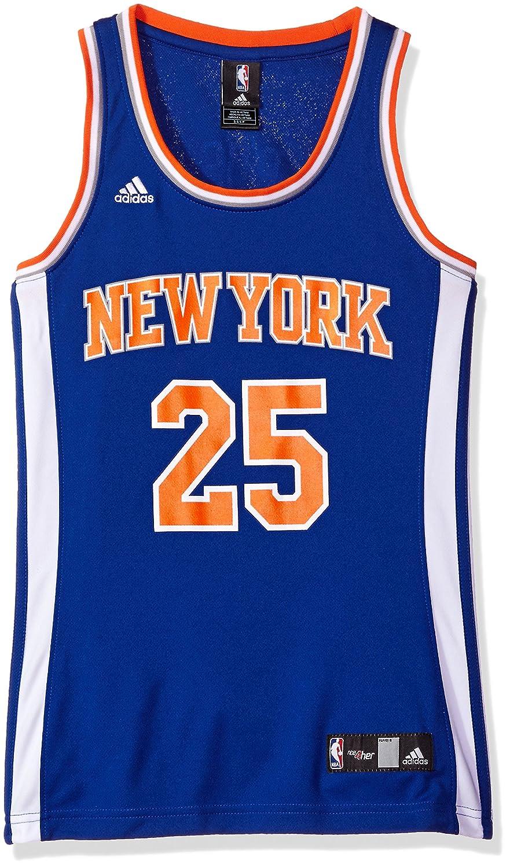 f148de7fe Amazon.com   NBA New York Knicks Derrick Rose  25 Women s Road Replica  Jersey