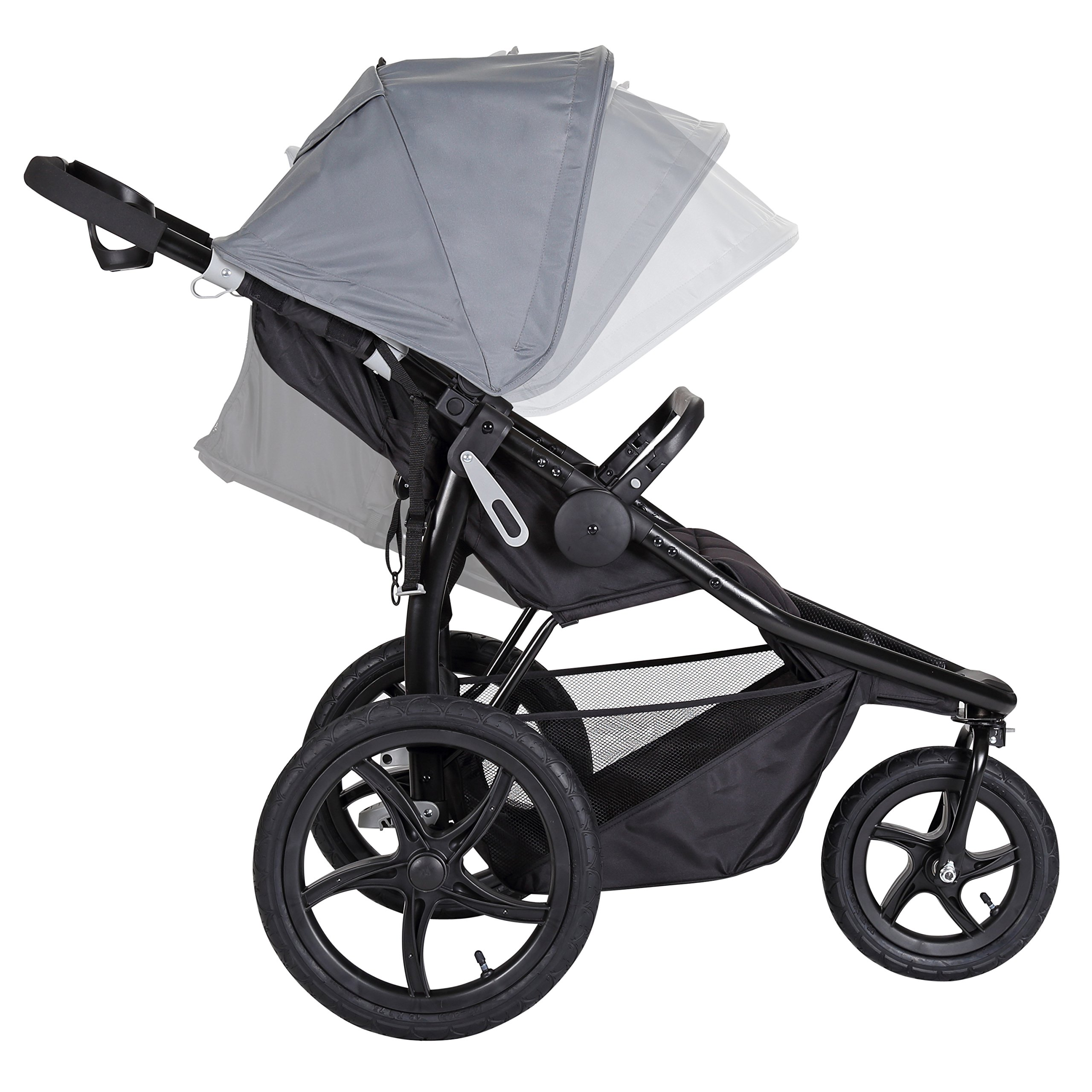 Baby Trend Stealth Jogging Stroller, Alloy by Baby Trend (Image #2)