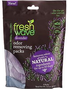 Fresh Wave Lavender Odor Removing Packs, Bag of 6