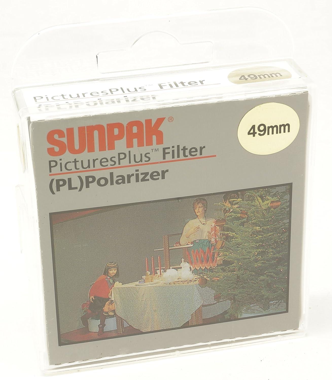 Sunpak Silver 49mm Polarizing Filter Made in Japan