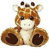 """Aurora World Taddle Toes Safari Giraffe Plush, 10"""" Tall"""