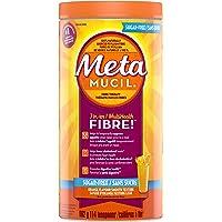 Metamucil 3 in 1 MultiHealth Fibre! Sugar-Free Fiber Suplement Powder, Orange, 662 g (Packaging may vary)