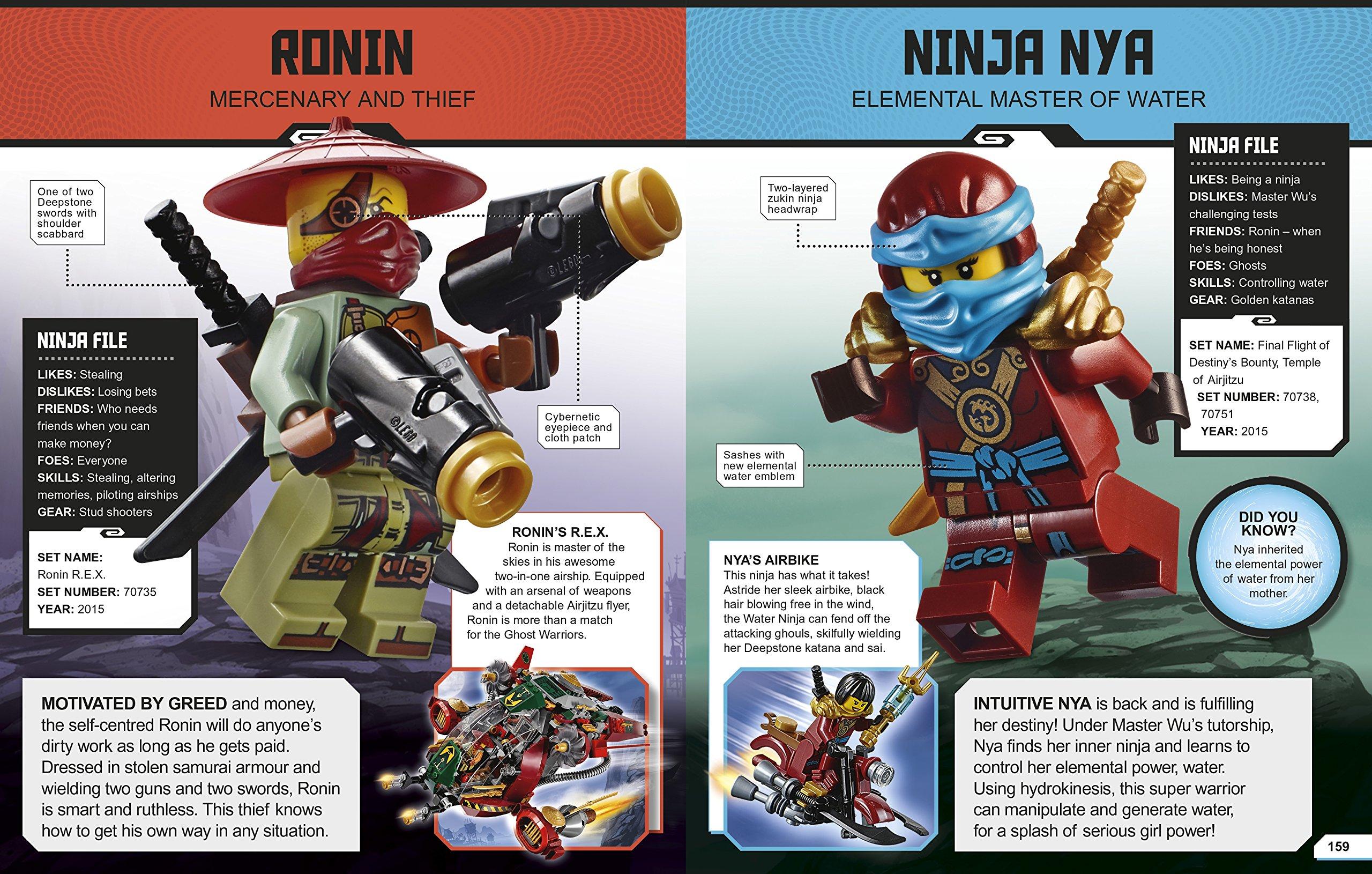 LEGO Ninjago Character Encyclopedia: DK: 9780241232484 ...