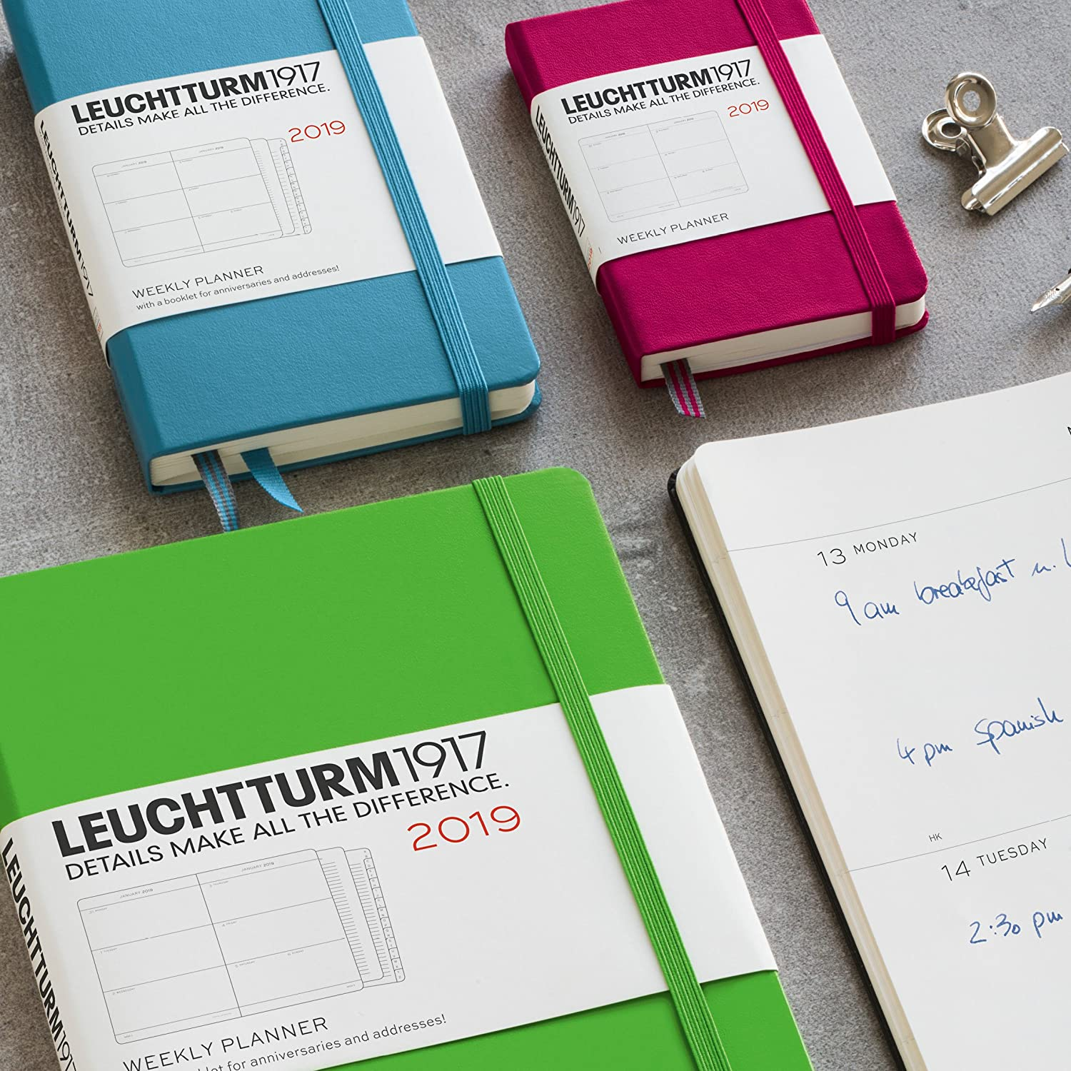 Amazon.com : Leuchtturm1917 357873 Weekly Planner 2019 ...