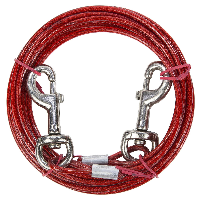 Câble d'attache/Longe pour chien avec sac de rangement 4,5m 5m Ezee Paws