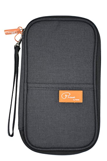 P.travel Waterproof Travel Passport Women s Wallet and Credit Card Holder  Ticket Document Bag Small 64ea72501