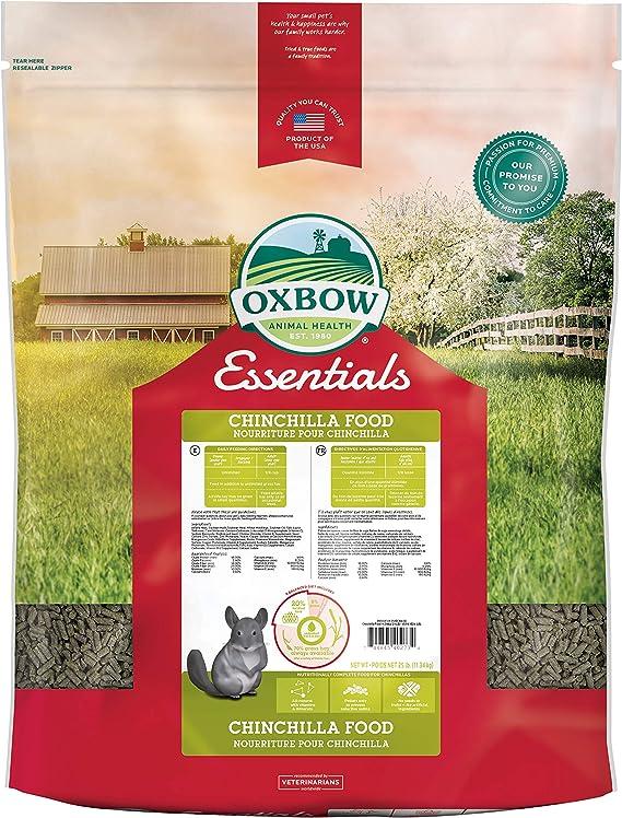 oxbow essentials chinchilla food diet
