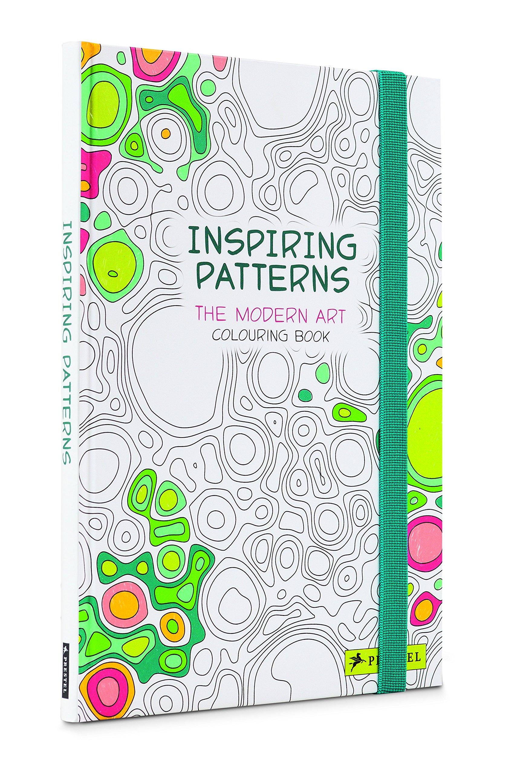 Amazon Inspiring Patterns The Modern Art Colouring Book 9783791372570 Delphine Badreddine Jean Baptiste Berthezene Books