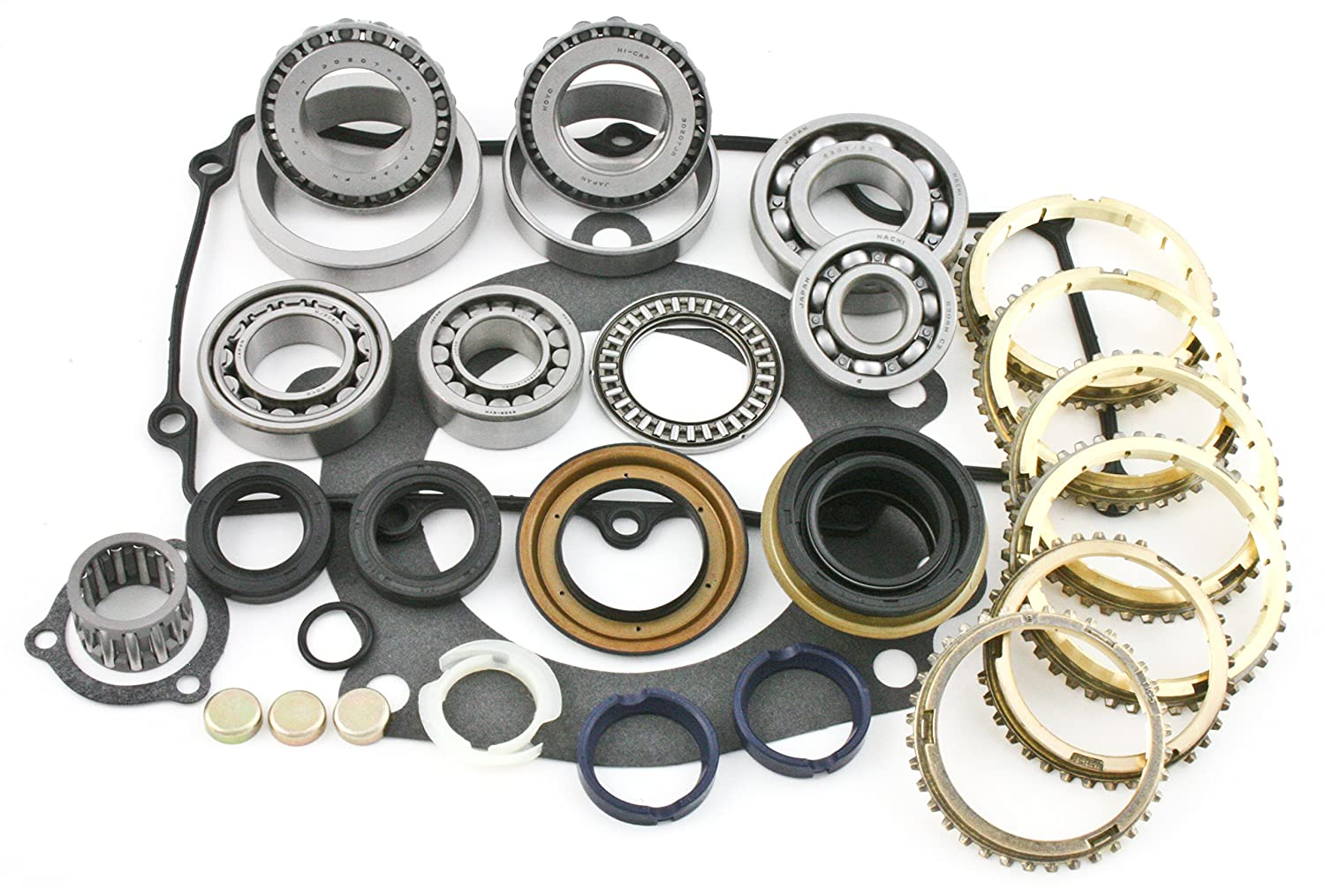 Transparts Warehouse BK247WS Ford M5R1 M5OD 5 Speed transmission Kit with rings