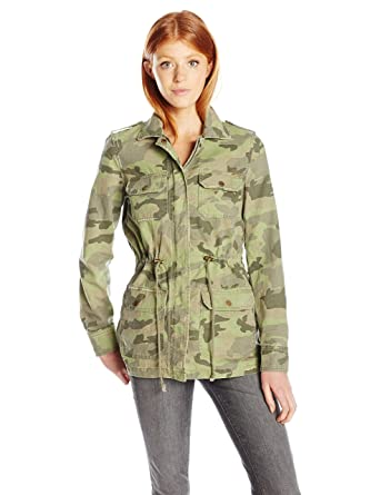 55ad77a4dfc59 Amazon.com: Billabong Junior's Can't See Me Printed Army Jacket ...