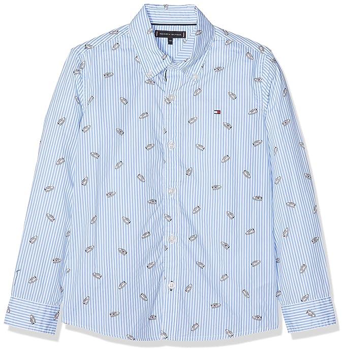 7fe29ad251c Tommy Hilfiger Printed Shoe Shirt L S