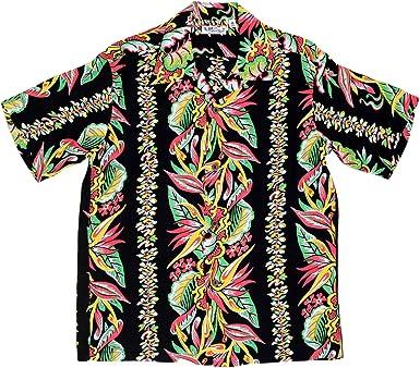 SUN SURF - Camisa Casual - para Hombre Negro Negro Medium: Amazon.es: Ropa y accesorios