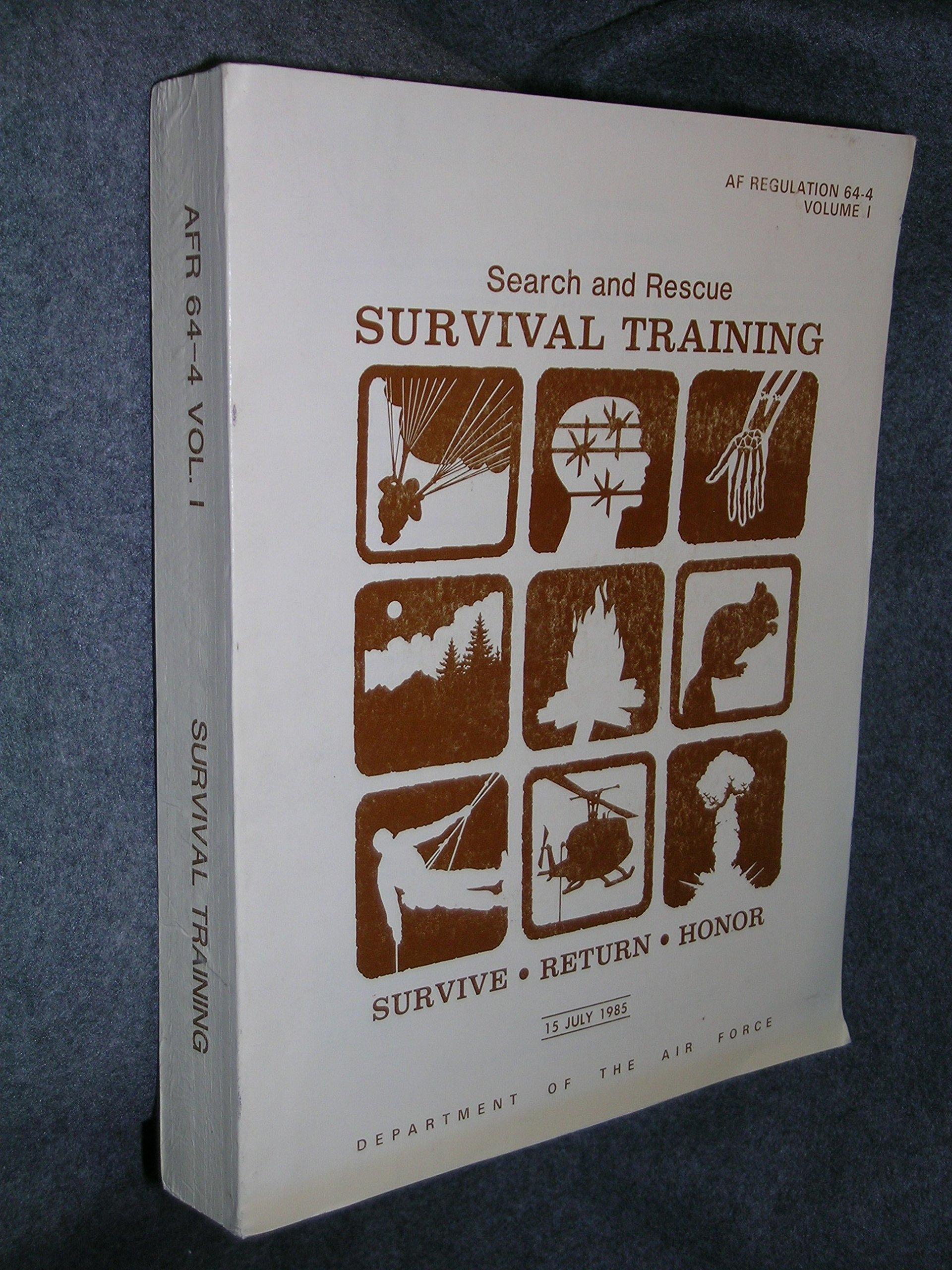 Search and Rescue Survival Training: Af Regulation 64-4 Volume 1:  Amazon.com: Books