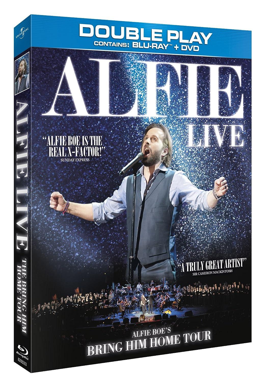 Alfie The Bring Him Home Tour Blu Ray Amazon De Dvd