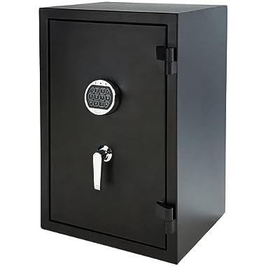 AmazonBasics Fire Resistant Box Safe, 2.1 Cubic Feet