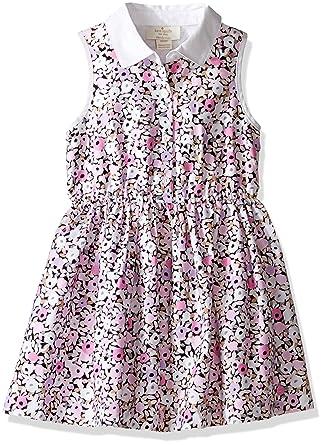 e6097a24d Amazon.com: Kate Spade New York Girls' Floral Shirtdress: Clothing