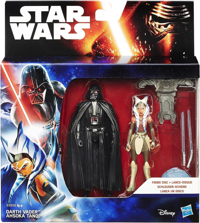 2/St/ück Star Wars Rebels 3.75-inch Space Mission Darth Vader und Ahsoka Tano Figur
