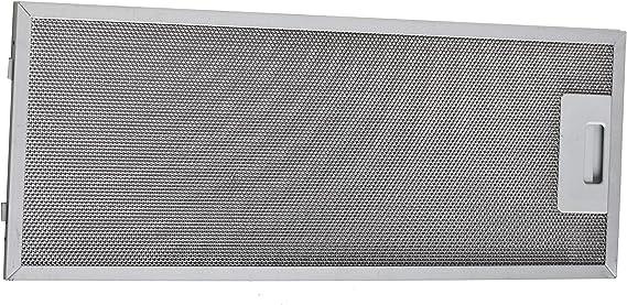 Filtro de metal, filtro de grasa 175 x 455 mm apto para Bosch Siemens Neff campana 352813: Amazon.es: Grandes electrodomésticos
