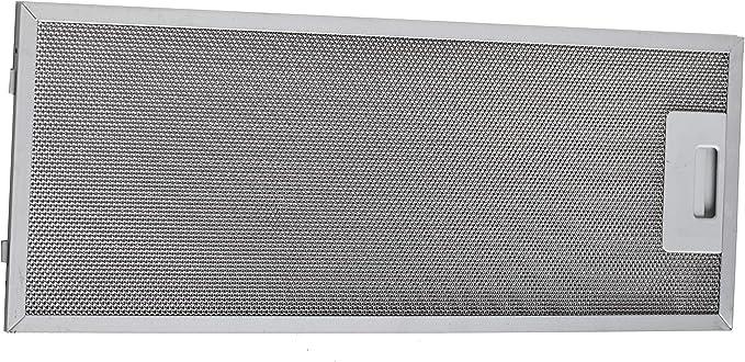 FILTRO grassi metallo posteriore 457x175mm cappa aspirante in alternativa Siemens Neff 352813