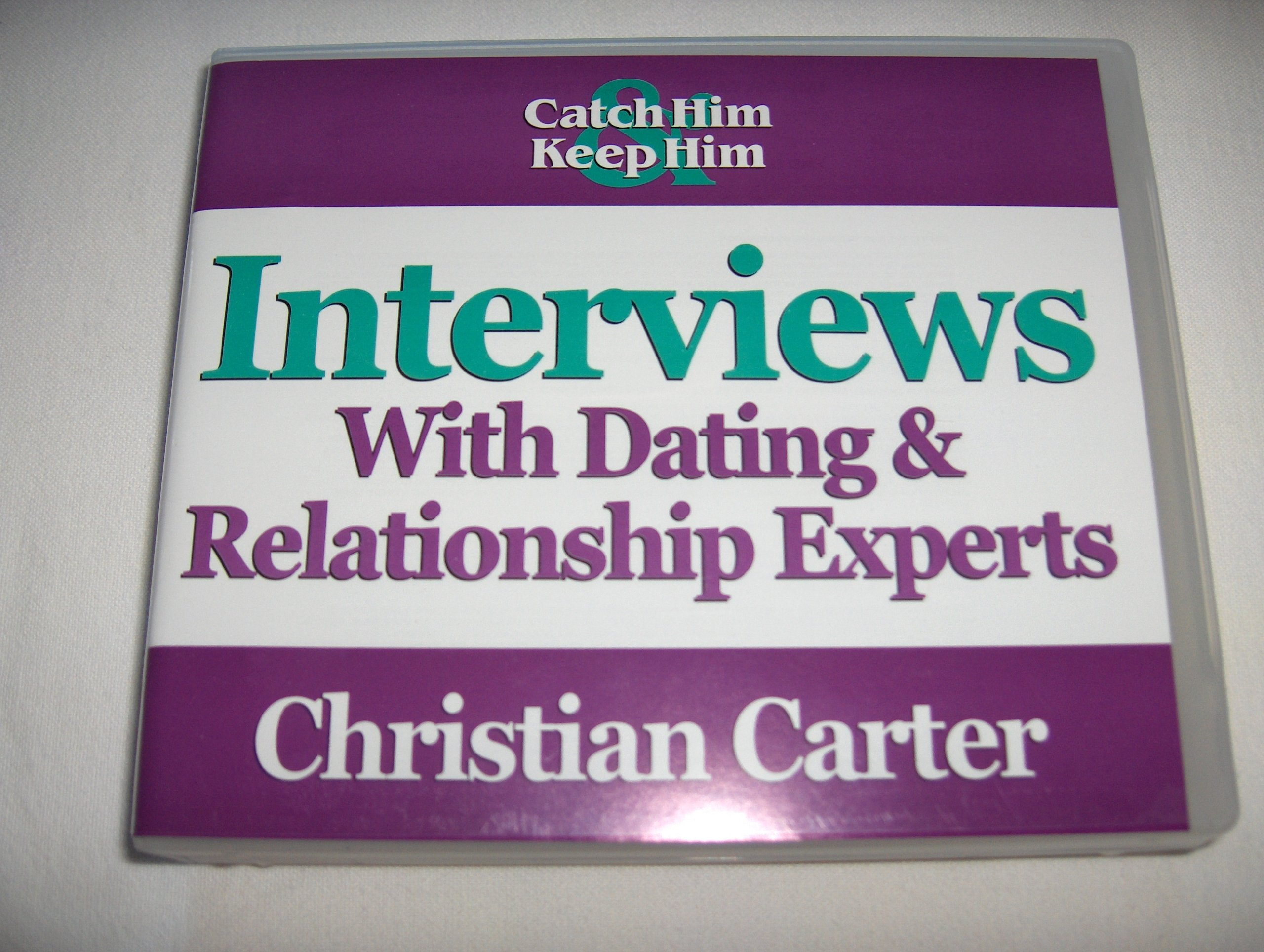 Christian carter interviews dating relationship experts