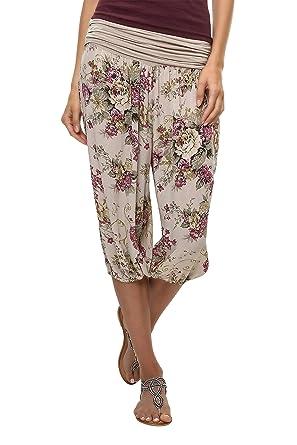 Kauf echt modisches und attraktives Paket am besten geliebt Hailys Damen Haremshose Sommerhose 3/4 Hose Strandhose ...