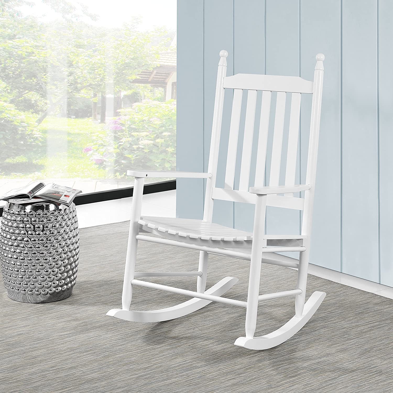 casao] berceuse blanc du bois massif fauteuil Relax Amazon