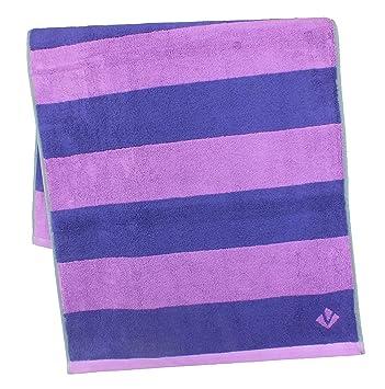 Vossen Bath Towels, 100% Cotton, Sunlight Violet, 2 Handtücher 50 X 100