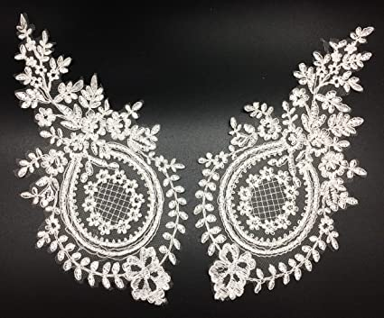 How to sew on lace applique youtube