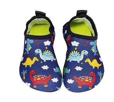664b02a6068f2 Adorllya Kids Boys Girls Toddler Swim Water Shoes Barefoot Aqua Socks Shoes  for Beach Pool Surfing