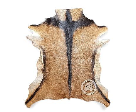 New Large GOATSKIN RUG GOAT SKIN GOAT HIDE GOAT Skin Rug Exotic 3´x 3