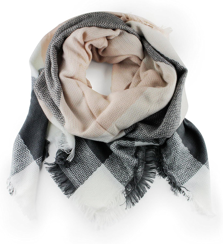 Lilly Lace XXL pashmina bufanda como la cachemira de las mujeres de la niñera cuadros multicolor patrón bufanda agradable lana de cachemira pañuelo bucle de muestras