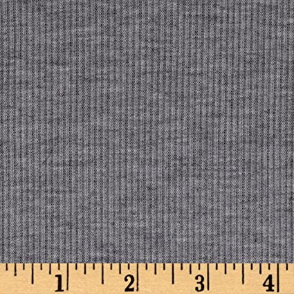 Black Jersey Knit #1 Rayon Polyester Spandex Lycra Stretch Fabric BTY