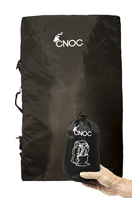 ade5f16c094 CNOC 2in1 Rain Protection & Transport Bag for Trekking Bags (50L ...