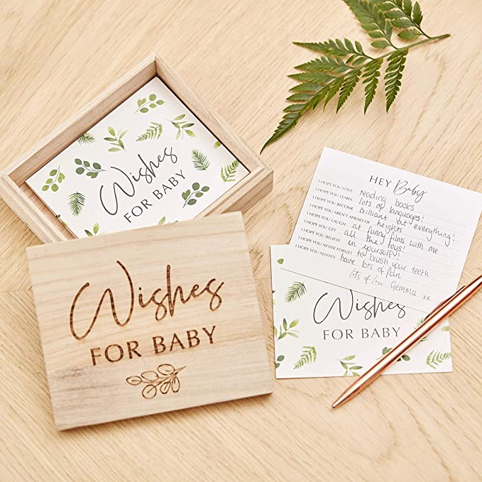 and Wishes Set Templates Advice Keepsake Bundle Well Wishes for Baby Advice Card Bee Baby Shower Predictions Oh Baby
