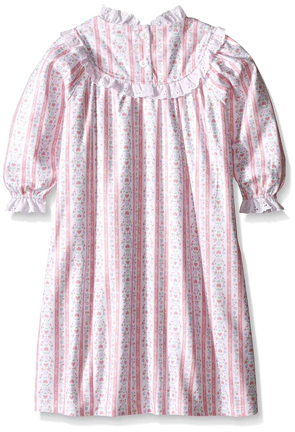 Lanz of Salzburg Tyrolean Flannel Nighty for Girls Toddler Sizes 2T-4T