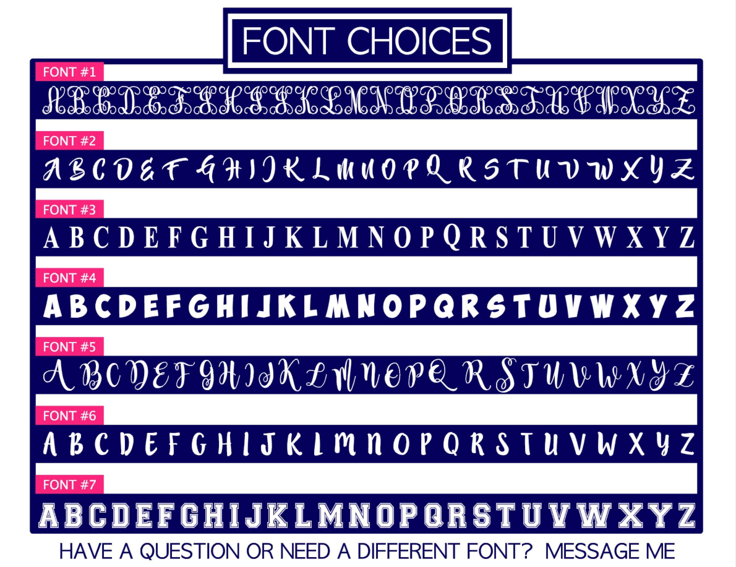 Single Letter Decal for Tumbler, Your Choice of Color & Style | Decals by ADavis by Decals by ADavis (Image #3)