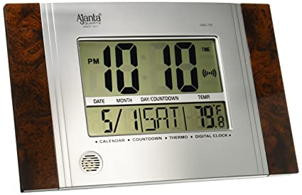 7fba0d1dc28 Buy Ajanta Plastic Digital Wall Clock (29 cm x 19 cm x 2.5 cm