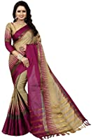 aagam fashion cotton silk saree (nikashapink)