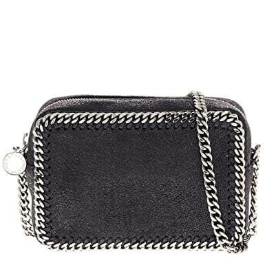 c29bcd4a4d Image Unavailable. Image not available for. Color  Stella McCartney Women s   Petrol  Falabella Shaggy Deer Crossbody ...