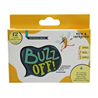 Buzz Off Mosquito Repellent Patch Single Pack (24 Patches)