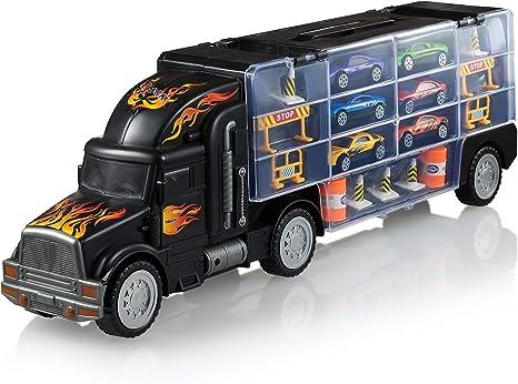 Amazon.com: Play22 Camión de juguetes, auto de transporte ...