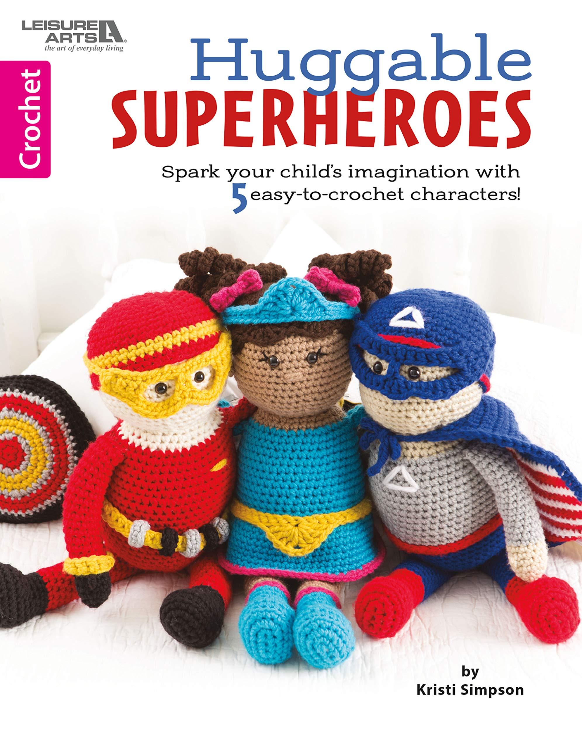 Huggable Superheroes Imagination Crochet Characters product image