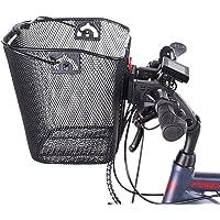 FISCHER Stuurmand met snelbevestiging, speciaal ontwikkeld voor e-bikes, draagkracht 5 kg, geschikt voor alle gangbare…