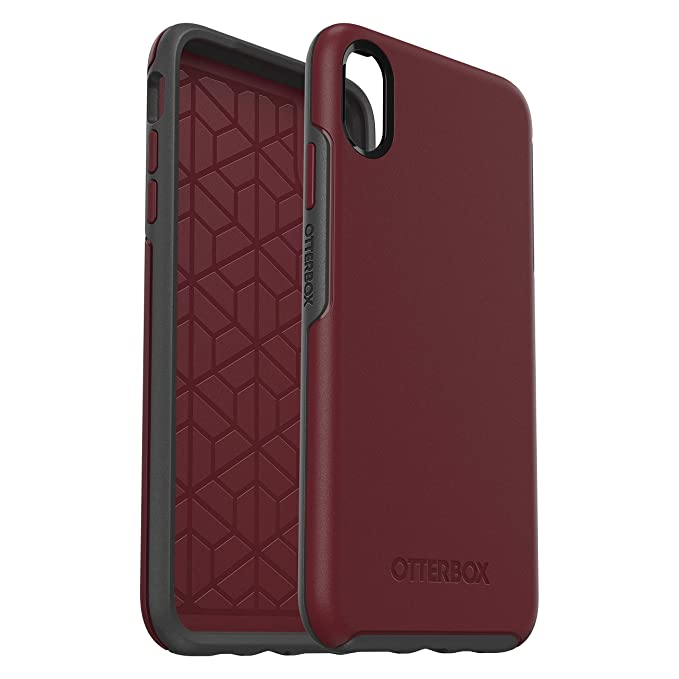 coque iphone xs max rouge bordeau