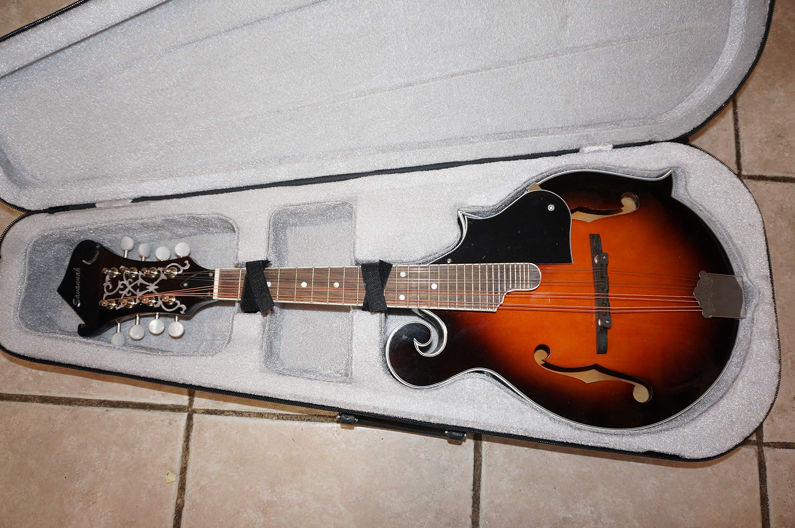 Mandolin, F Style with Hard Case