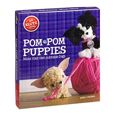 Klutz Pom-Pom Puppies: Make Your Own Adorable Dogs Craft Kit: Chorba, April: Toys & Games